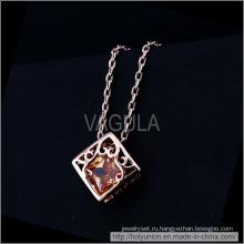 VAGULA сердце в поле дизайн Золотое покрытие ожерелье (Hln16338)