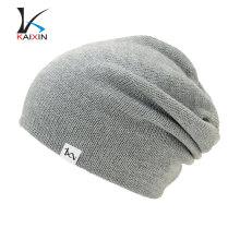 2017 Fashional Custom-Made Hot Sale Grey Beanie Cap Hat