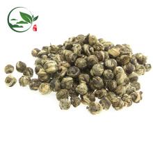 Estándar de la UE Spring Special Jasmine Pearls Tea Jazmín Beads Tea OEM Jazmín Tea Tin Can