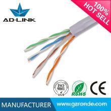 Tipos de cabos de telecomunicações de 0,55mm CCA UTP Cat5e