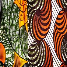Moisture Proof Woven Polyester Printing Wax Dresses Fabrics