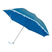 Lace Edge à l'intérieur du parapluie à 3 plis (BD-26)