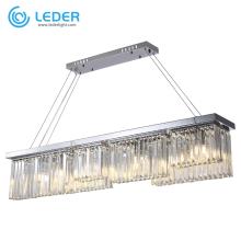 Iluminación de araña de cocina con cuentas LEDER
