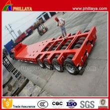 25T 200tons bajo cama Semi acoplado/Semi Lowboy lpg camión Trailer (PLY9502TDP)