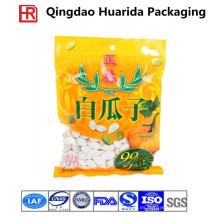Bolso de semillas de girasol a prueba de humedad de tres lados / bolsa de plástico