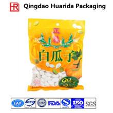 Moistureproof Three Side Seal Sunflower Seeds Bag/Plastic Snack Bag