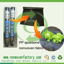 Tela não tecida estável UV dos PP Ss para o controle de ervas daninhas