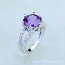 premier fabricante dubai jóias pavão design anéis de dedo