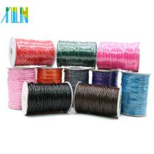 Herstellen Sie dünne gewachste Baumwollkordel-Schnur ohne Ausdehnung mit unterschiedlicher Größe und Farben ab Vorrat XULIN Halsketten-Schnur, ZYL0003