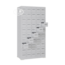 Steel small drawers chinese medical medicine cabinet