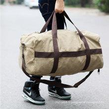 Toile imperméable pliant sac de sport sport de haute qualité sac de voyage pliable en gros