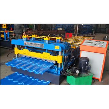 Máquina formadora de rolos ondulados para chapa de ferro fabricada Dongchang