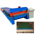 Galvanized Corrugated Zinc Sheet Metal Roll Forming Machine