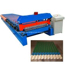Rollo de láminas para techos corrugados que forman maquinaria