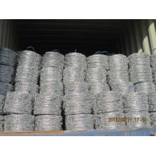 Arame Farpado Galvanizado 1.6mmx1.6mmx5′′----Galvanized Barbed Wrie