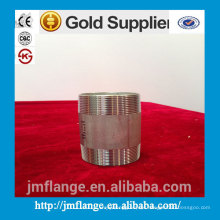 304/316 acessórios de aço inoxidável e acessórios de válvula mamilo barril