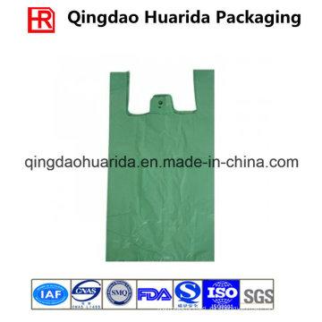 Индивидуальная пластиковая хозяйственная сумка с вашим логотипом для супермаркета
