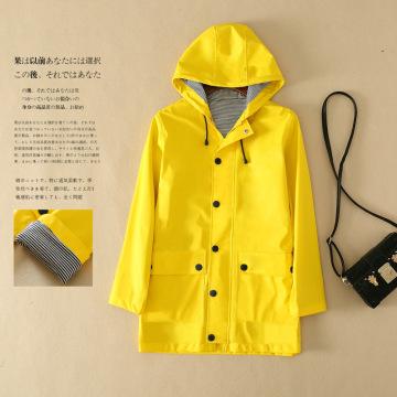 2020 New Women Designer Rain coat