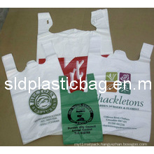 High Quality Shopping Plastic T-Shirt Bag