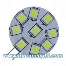 9 SMD Power 5050 G4 LED Light Side Pin Blanc brillant 12V DC