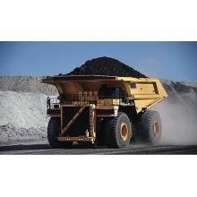 Caminhões basculantes de mineração autônoma