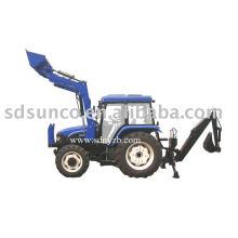 hydraulic backhoe loader