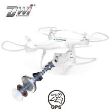 DWI Dowellin 2.4Ghz WiFi Transimission Drone With GPS 2MP Wifi Camera