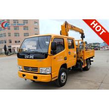Brand New DFAC Double Cabin Cargo Crane Truck