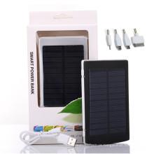Carregador móvel solar do banco do poder 12000mAh