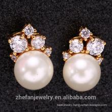 925 sterling silver pearl pendant jewelry Earring
