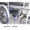Scooter eléctrico de la motocicleta de la rueda de cuatro ruedas (FP-EMS01)