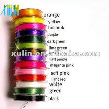claro multicolor beading trecho elástico cordão para pulseira ES05