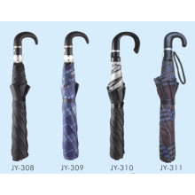 Auto Open Men 2 Fold Umbrella (JY-14)
