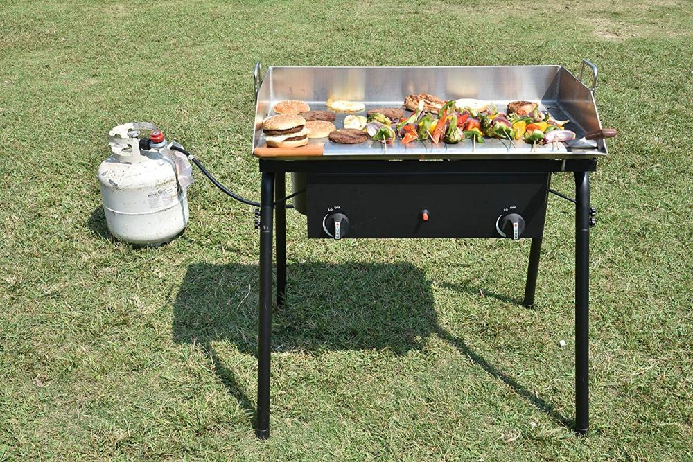 Outdoor 2 Cooking Burner Stove
