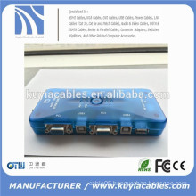 4port Auto USB2.0 KVM Switch Mini Auto USB KVM Switch