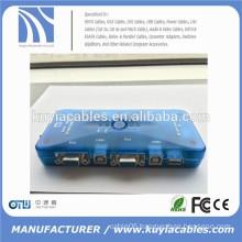 4port Auto USB2.0 KVM Switch Mini Auto USB KVM Switch