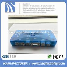 4port Auto USB2.0 Switch KVM Mini Auto USB Switch KVM