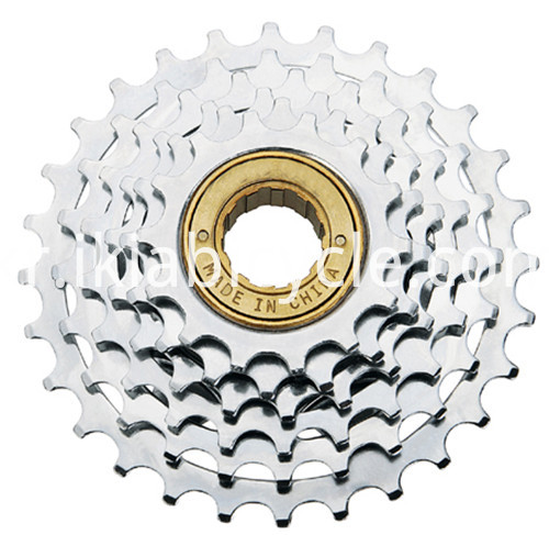 Black Bicycle Freewheel for MTB