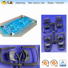 abs material key chain parts and accessories injection mould