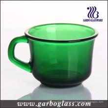 Green Solid Color Mug with Popular Shape