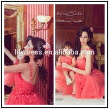 Красная линия тюль дизайн спагетти stap на заказ коктейль короткие мини-платье WH038 дочери платье для мамы невесты