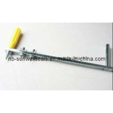 Gasket Cutter with Rubber Non-Asbestos Non-Metallic Gasket (SUNWELL T900GC)
