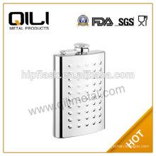 5oz embossed on matt finish flask stainless steel engraved flasks