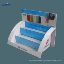 présentoirs en carton pop personnalisés pour la vente au détail de verre de lecture ou de lunettes de soleil