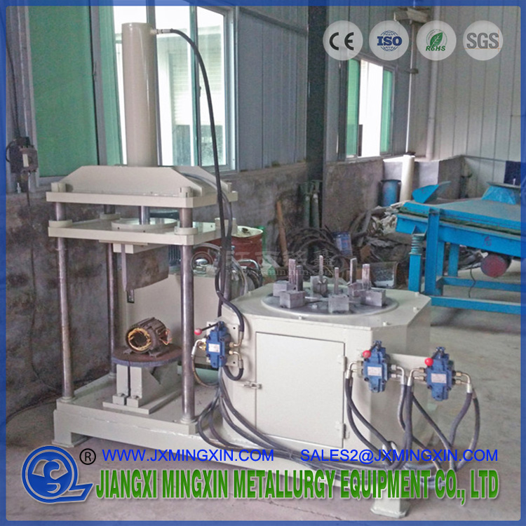motor cutting and dismantling machine