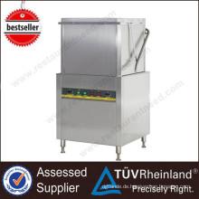Gute Qualität Industrielle CER-Zertifikat-Teller-Reinigungs-Waschmaschinen-Tabellen-industrielle Spülmaschine