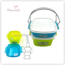 Plastic PP Food Storage Container Set with Handle