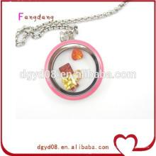 Vente chaude populaire médaillon pendentif collier