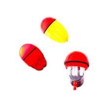 Flutuador de pesca de plástico elétrico FSFL001 com luz