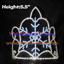 Wholesale Crystal Christmas Snowflake Crown